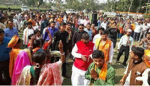 त्रिपुरा में गरजे मुंडा कहा, यहां बनेगी बीजेपी की सरकार