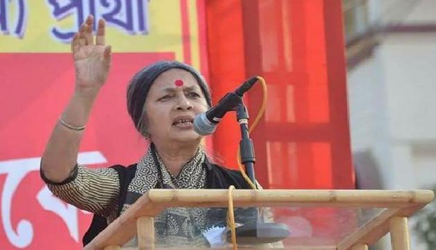 माकपा नेता वृंदा करात ने त्रिपुरा में रैली को संबोधित करते हुए मोदी पर निशाना साधा है।