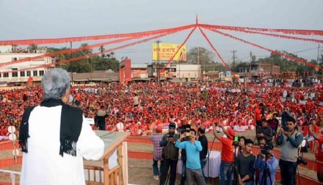 त्रिपुरा चुनावः प्रतापगढ़ सीट पर वामपंथी किले को ध्वस्त करना है मुश्किल