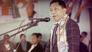 मेघालयः कांग्रेस को झटका, भड़काऊ भाषण देने पर उम्मीदवार को EC का नोटिस