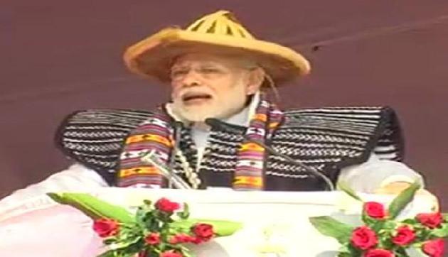 अरुणाचल में बोले PM मोदी, 'स्वास्थ्य क्षेत्र में अधिकतम ध्यान दे रही सरकार'