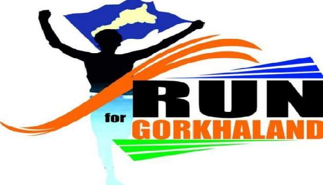 पृथक गोरखालैंड की मांग को लेकर GSSS ने किया मैराथन दौड़ आयाेजन