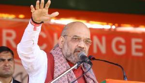 शाह ने फिर बोला हमला, 'गांधी परिवार की प्राईवेट कंपनी बन गई है कांग्रेस'