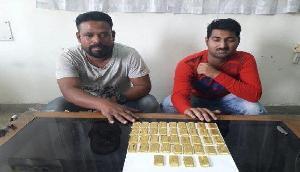 असम: दो करोड़ से ज्यादा की कीमत के गोल्ड बिस्कुट बरामद, 2 गिरफ्तार
