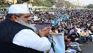 मोदी को हराने के लिए इस मुस्लिम नेता ने चली खौफनाक चाल, RSS पर भी साधा निशाना