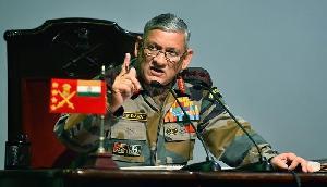 आर्मी चीफ बिपिन रावत ने अजमल की पार्टी  AIUDF पर साधा निशाना