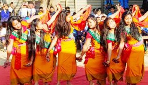 Manipur  में दिखी उत्तराखंडी लोक संस्कृति की मनमोहक छटा