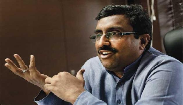 भाजपा राज्य समिति की बैठक में भाग लेने त्रिपुरा आयेंगे राम माधव