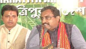 राम माधव का दावा, त्रिपुरा में नहीं तोड़ी गई किसी की भी मूर्ति