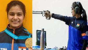 शूटिंग वर्ल्डकप में गोल्ड जीतने पर हिमंत ने दी मनु भाकर को बधाई