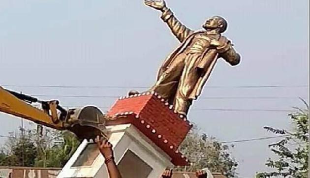 'त्रिपुरा में भाजपा का असल चेहरा आया जनता के सामने'