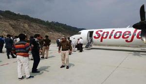 सिक्किम पैकयॉन्ग एयरपोर्ट पर पहली कमर्शियल फ्लाइट हुर्इ सफलतापूर्वक लैंड