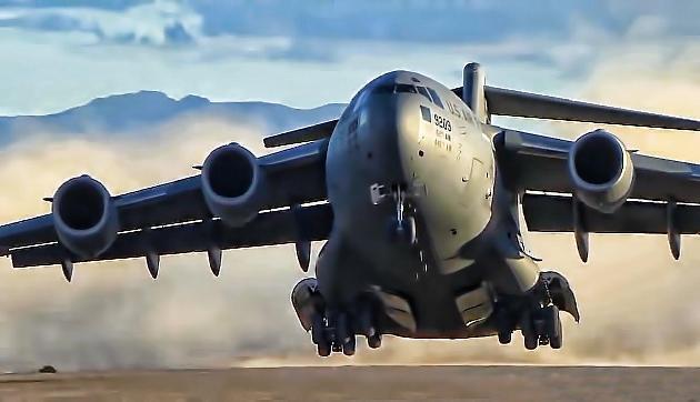अरुणाचल में लैंड हुआ  C-17 ग्लोबमास्टर, जानिए इसकी खासियत