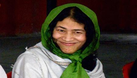 अब कश्मीर की महिलाओं के लिए काम करेंगी मणिपुर की आयरन लेडी