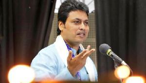 बिप्लव का आरोप: त्रिपुरा में हिंसा के पीछे माकपा का हाथ