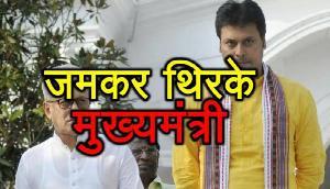 हरे रामा हरे कृष्णा की धुन पर जमकर थिरके मुख्यमंत्री बिप्लब देव, देखें वीडियो