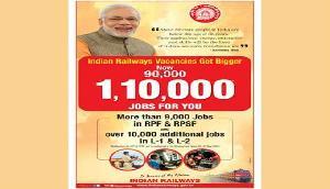 मोदी सरकार 1 लाख 10 हजार लोगों को देगी सरकारी नौकरी