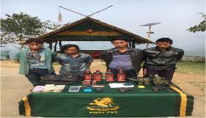 बड़ी आतंकी घटना नाकाम, असम राइफल्स के जवानों ने 4 उग्रवादियों को किया गिरफ्तार