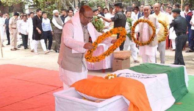 मणिपुरः पूर्व मुख्यमंत्री दोरेंद्र सिंह का निधन, 3 बार रहे हैं CM