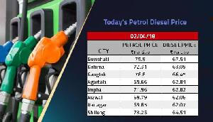 असम में दिल्ली से ज्यादा महंगा है पेट्रोल, सिक्किम में भी दाम असमान पर