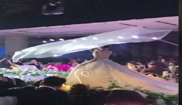दुल्हन ने मारी ऐसी एंट्री देखकर डर गए लोग, वीडियो हुआ Viral