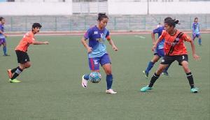महिला फुटबॉल लीग: राइजिंग स्टूडेंट क्लब ने इंदिरा गांधी अकादमी को रौंदा