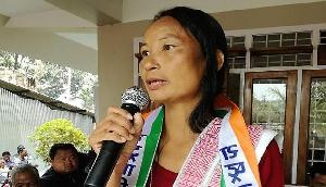 मेघालय: NCP उम्मीदवार के तौर पर जोनाथन संगमा की पत्नी बनी लोगों की पहली पसंद