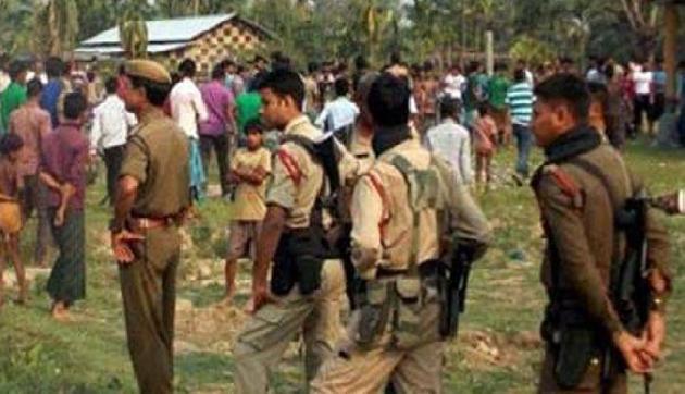 विवादित क्षेत्र में चल रहा था पुलिस थाने का निर्माण कार्य, विरोध के बाद सरकार ने कराया बंद