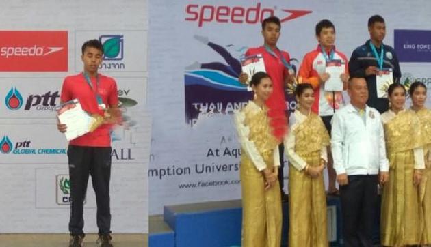 थार्इलैंड स्विमिंग चैम्पियनशिप में असम के 14 वर्षीय बिक्रम ने जीते दो पदक