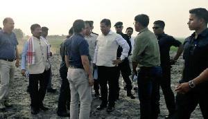 काजीरंगा में निर्माणाधीन टीलों का मुख्यमंत्री ने किया निरीक्षण, बरसात से पहले काम पूरा करने के निर्देश
