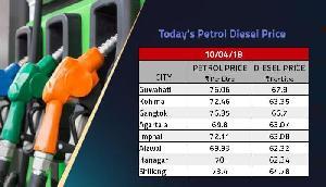 मुंबई से करीब 12 रुपए प्रति लीटर सस्ता पेट्रोल मिल रहा है यहां, जानें क्या है पूर्वोत्तर के राज्यों में कीमत