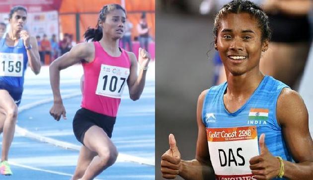 राष्ट्रमंडल खेलः असम की हिमा दास 400 मीटर के फाइनल में पहुंची, कांस्य से चूके अनस