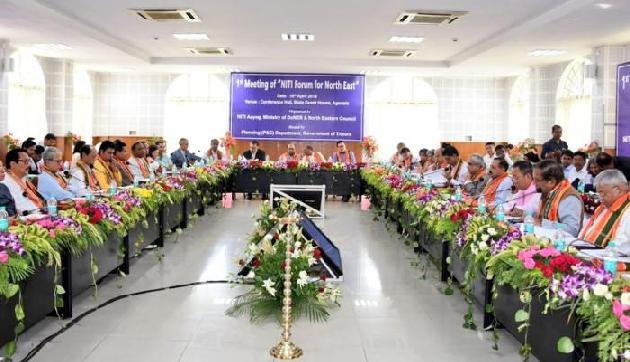 त्रिपुरा में हुई पूर्वोत्तर के लिए नीति फोरम की पहली बैठक