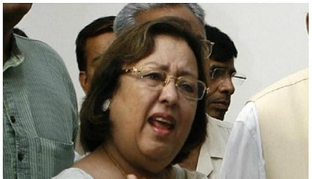 अबुल कलाम व नजमा हेपतुल्ला की विवादित तस्वीर के साथ की गई थी छेड़छाड़
