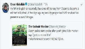 कमर उज जमां को लेकर उमर अब्दुल्ला ने किया चौंकाने वाला खुलासा