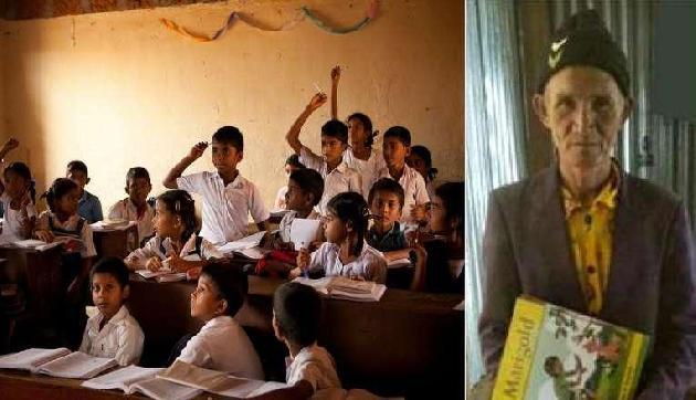 73 साल में स्कूल जाता है ये 'बच्चा', लगन देख स्कूल वाले भी हैं दंग