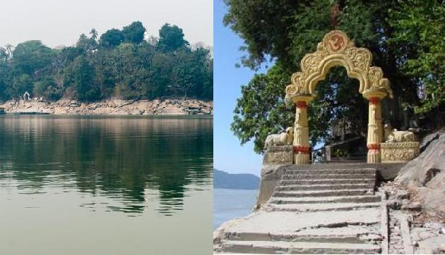 ब्रह्मपुत्र नदी के बीचो बीच है उमानंद मंदिर, हजारों की संख्या में आते हैं श्रद्धालु