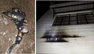 शिलांग टाइम्स की संपादक के घर पर पेट्रोल बम से हुआ हमला,बाल बाल बचीं