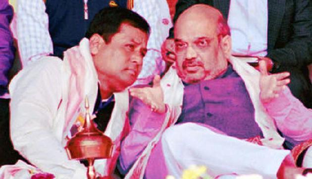 हिंदू बांग्लादेशी नागरिक विवाद में सोनोवाल-शाह की बैठक