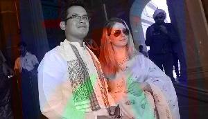 मोदी की सुनामी में भी डटकर खड़ा था ये कांग्रेसी नेता, 'गोरी मेम' से की है शादी