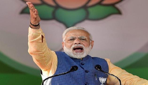मोदी ने साधा निशाना, कहा- सिर्फ क्षेत्रीय पार्टी बन रह गई कांग्रेस, तीन राज्यों में सिमटी