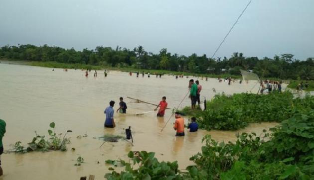 त्रिपुरा में बाढ़ का कहर, देखें तस्वीरें