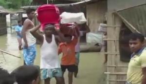 बाढ़ से बेहाल हुआ असम, पूर्वोत्तर के अन्य राज्यों की स्थिति में सुधार