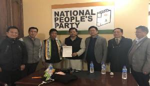 भाजपा के हाथ लगी बड़ा कामयाबी, PPA के सात विधायक एनडीए की सहयोगी पार्टी में शामिल
