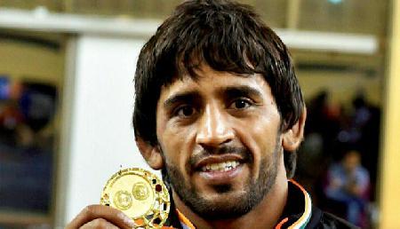 मोदी-सोनोवाल ने स्वर्ण जीतने पर बजरंग को दी बधाई