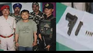 असम: पिस्तौल के साथ एनडीएफबी (एस) कैडर गिरफ्तार
