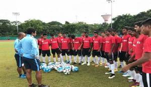 सैफ अंडर-15 चैम्पियनशिप में नेपाल से भारतीय टीम की भिड़ंत