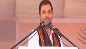 मिजोरम विधानसभा चुनाव 2018: राहुल गांधी ने बीजेपी को घेरा