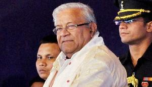 नागालैंड के राज्यपाल ने मणिपुर के अरिबम को किया सम्मानित