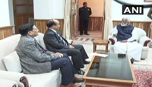 मिजोरम CM ने दिया इस्तीफा, सरकार बनाने का दावा करने गवर्नर के पास पहुंचे MNF चीफ